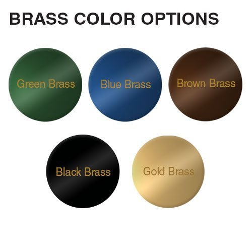 Engraved brass nameplates in 5 colors, precision engraved for executives, offices and professional workplaces. Fast delivery and low prices from NapNameplates.com