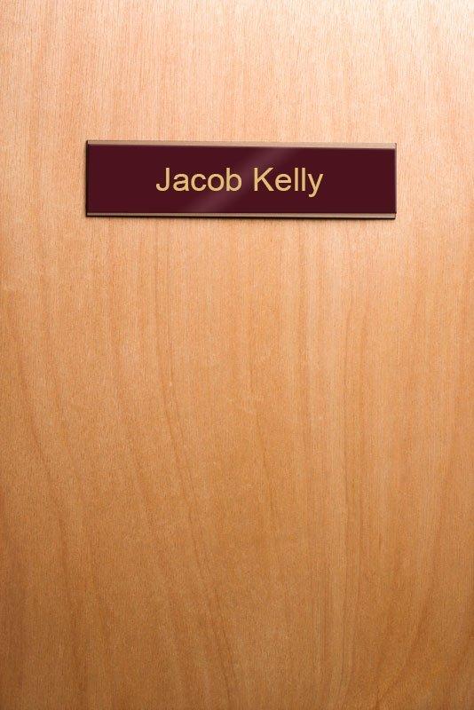 Nameplate-Wooden-Door